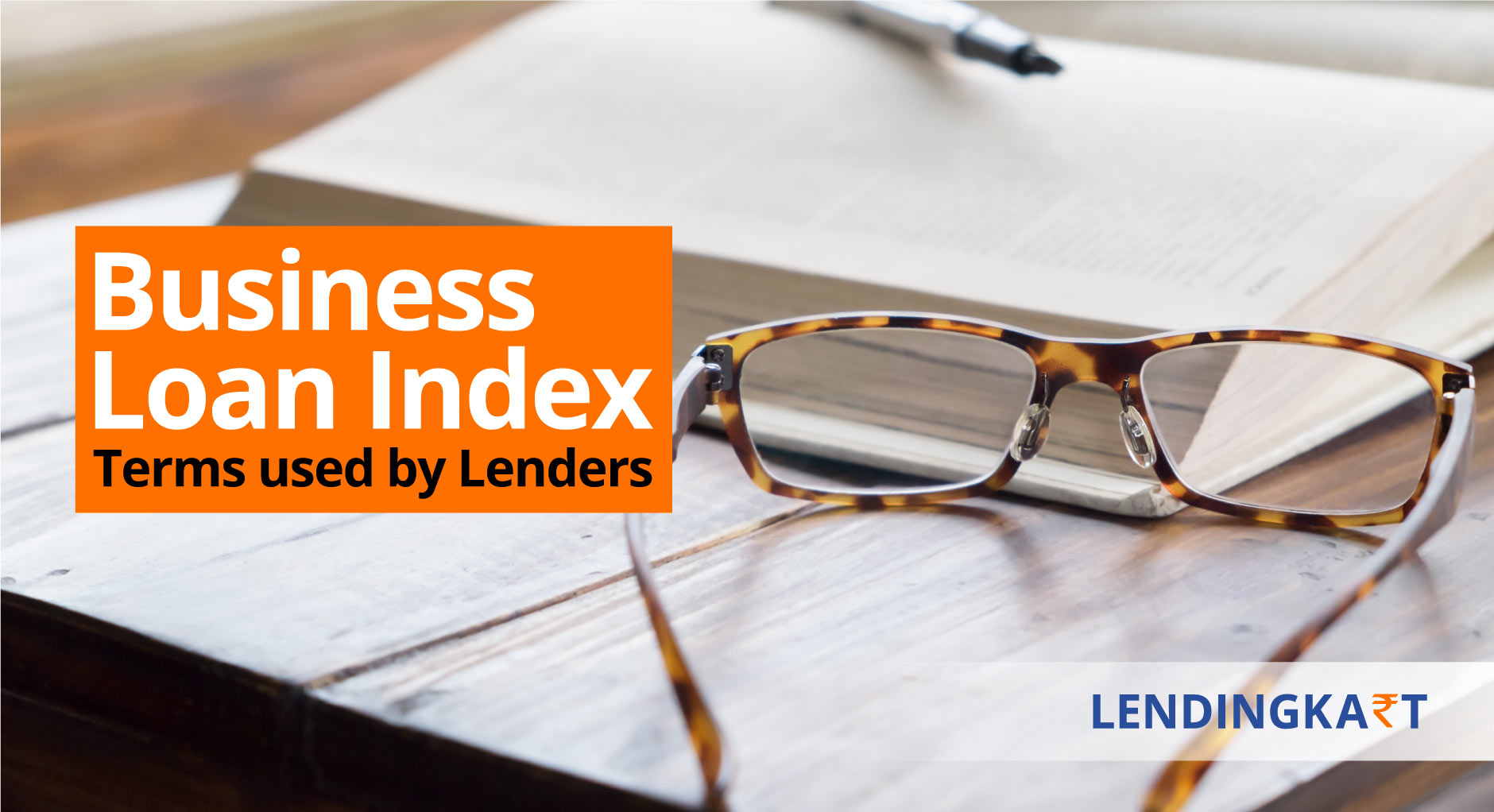 Business Loan Index - Terms used by Lenders