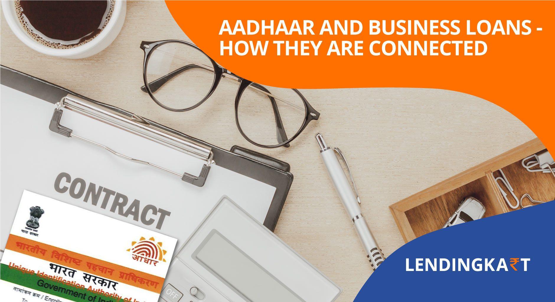 Aadhaar for Business Loans