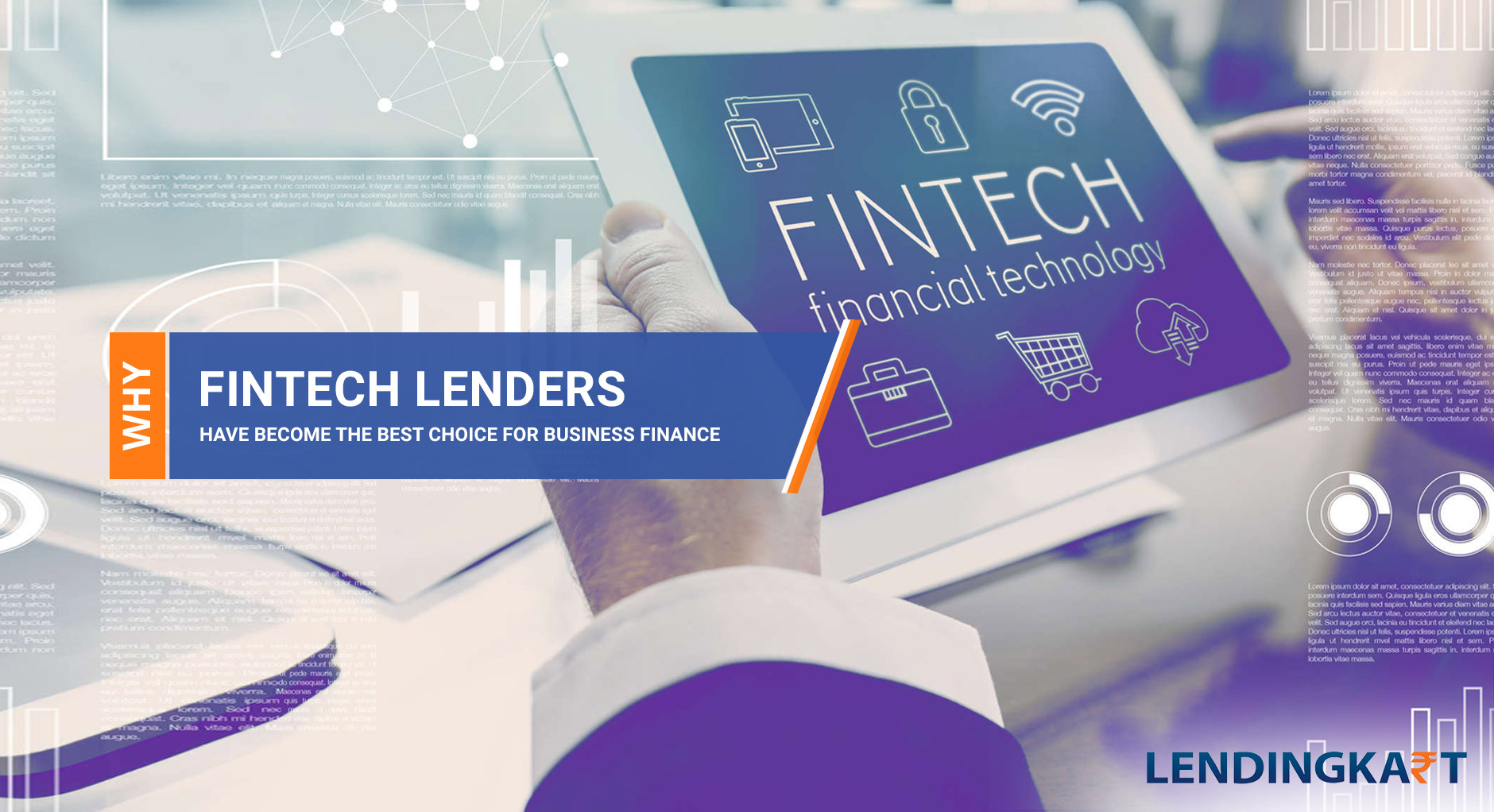 why fin-tech lenders have become the best choice for business finance