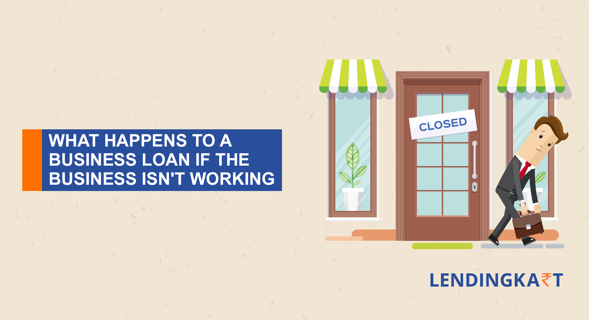 business loan of closed business