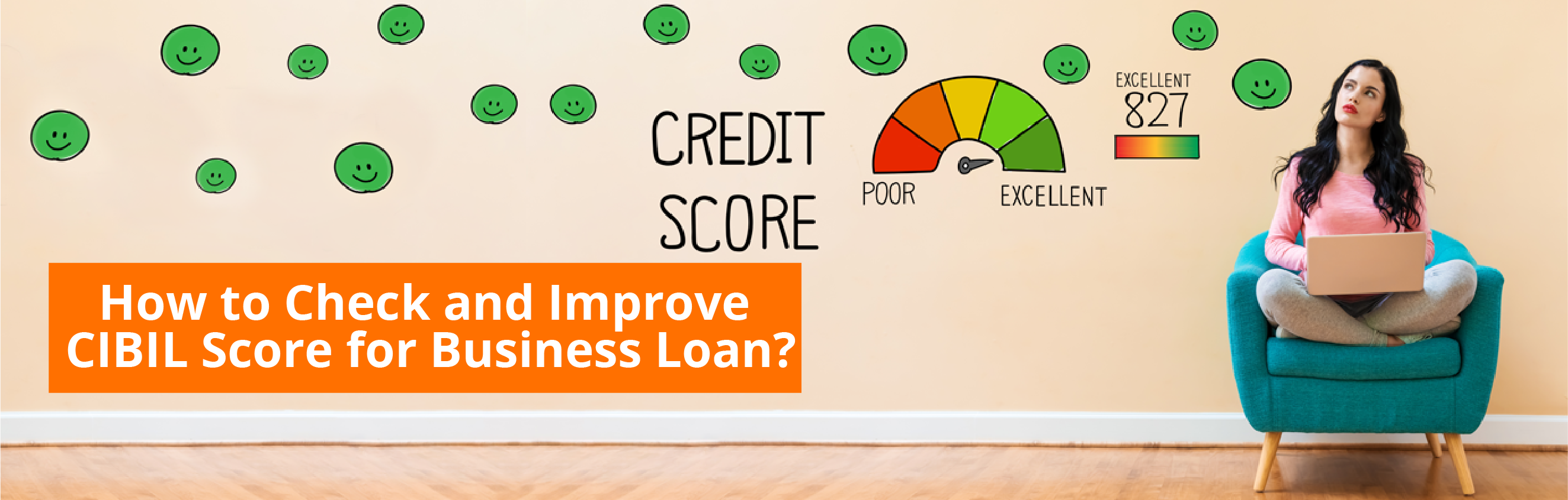 How to Check and Improve CIBIL Credit Score for Business Loan?