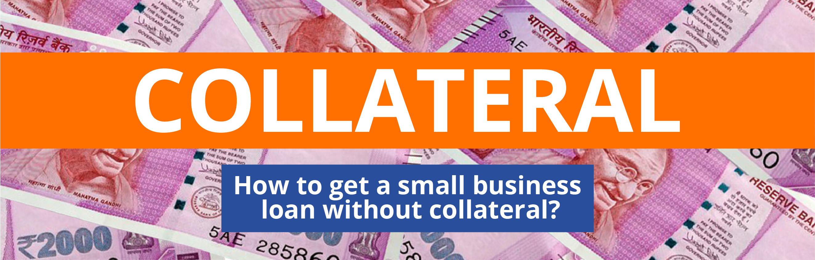 small business loan without collateral