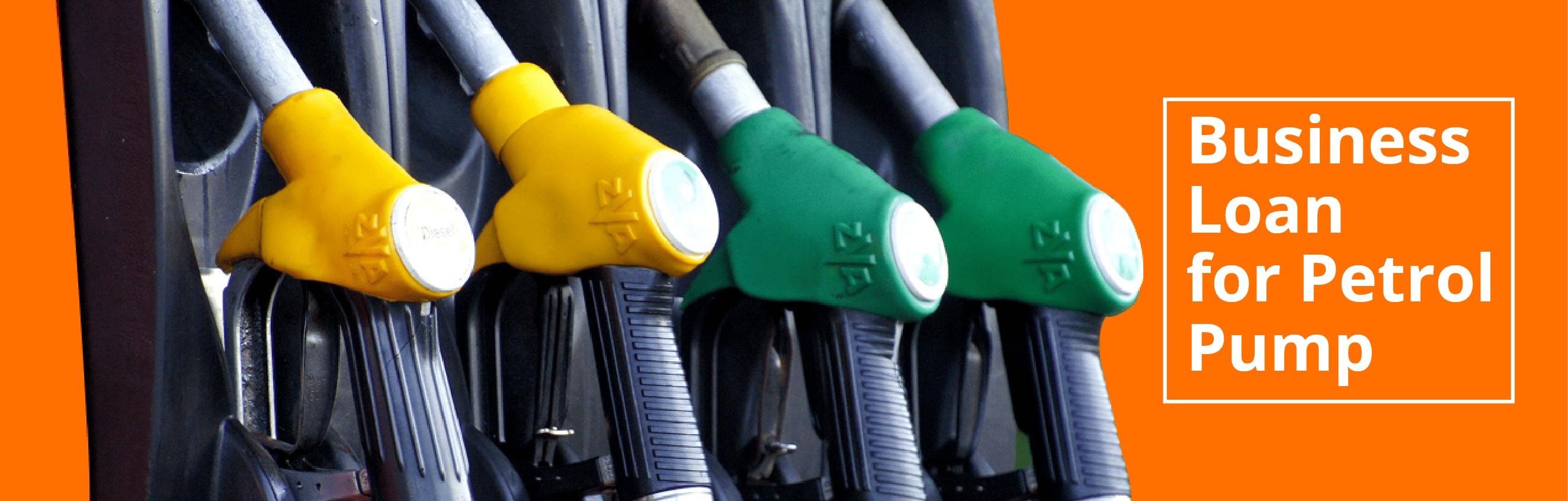 business loan for petrol oump