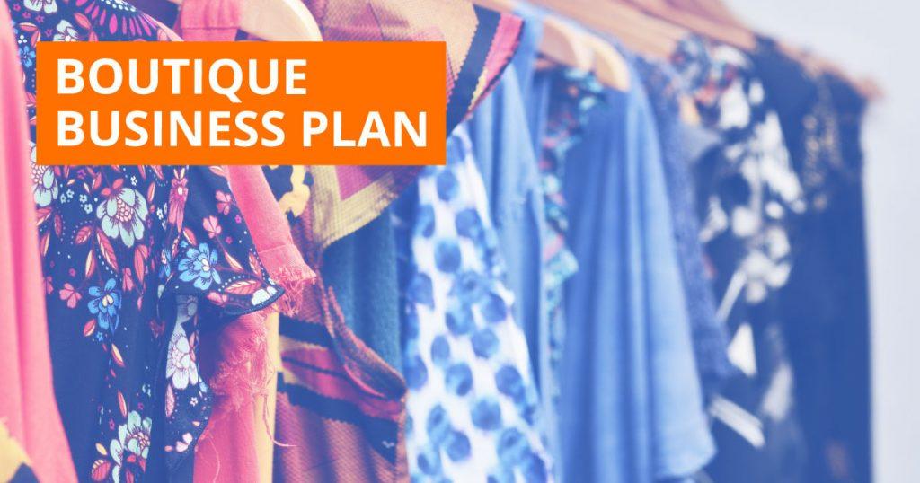Boutique Business Plan