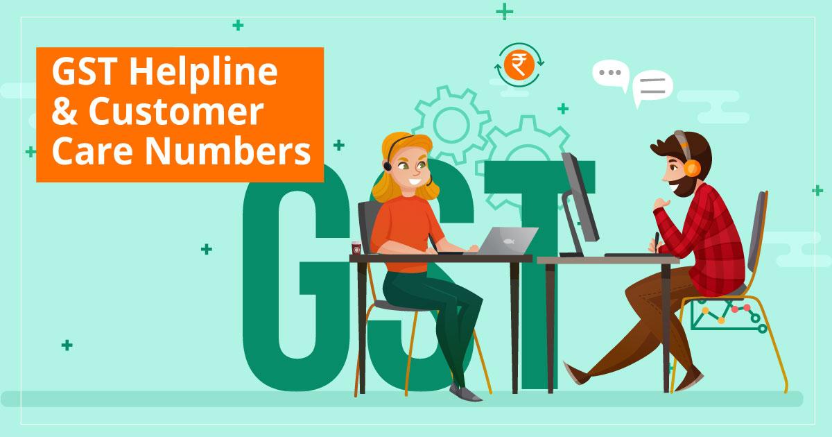GST Helpline & Customer Care Number
