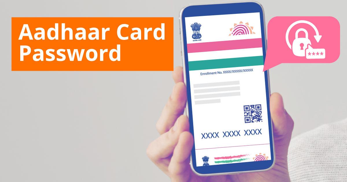 Aadhaar Card Password
