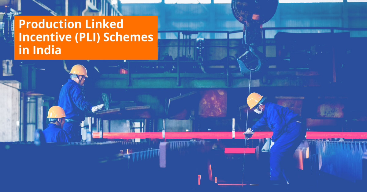 Production Linked Incentive Schemes in India